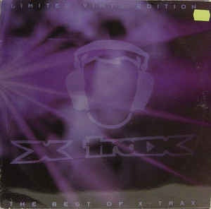 DJ Misjah / Exiter / X-Connection / DJ Tim / DJ Groovehead‎ / Express & More – The Best Of X-Trax - VG- (lower grade) 2 Lp Record 1995 Netherlands Import Blue Vinyl - Trance / Acid / Hard Trance