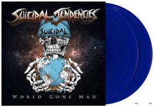 Suicidal Tendencies - World Gone Mad - New Vinyl Record 2016 Limited Edition Deluxe Gatefold 2-LP Blue Vinyl + Download - Punk Rock