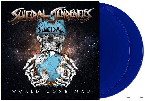 Suicidal Tendencies - World Gone Mad - New Vinyl 2016 Limited Edition Deluxe Gatefold 2-LP Blue Vinyl + Download - Punk Rock