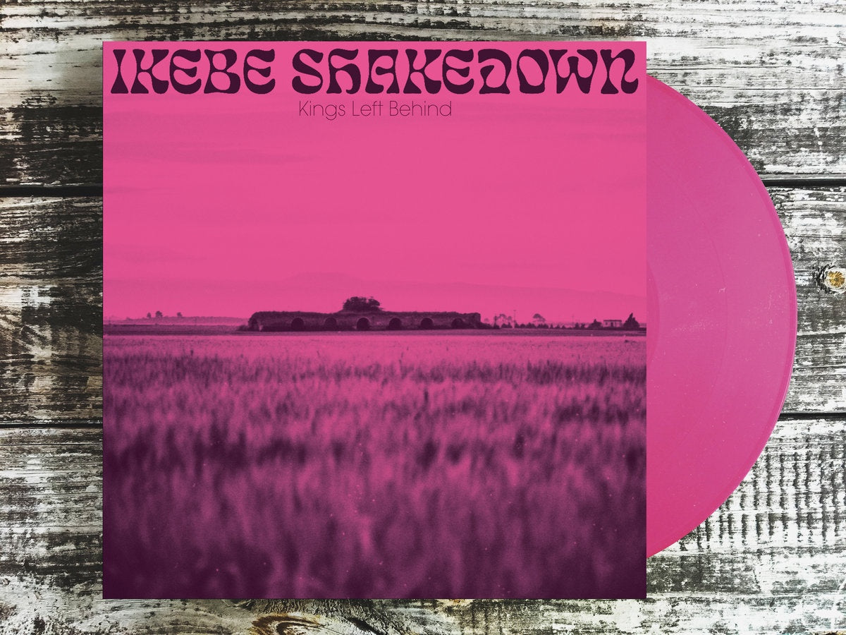 Ikebe Shakedown - Kings Left Behind - New LP Record Colmine 2019 Limited Edition Pink Vinyl - Instrumental Soul