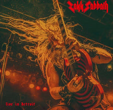 Zakk Sabbath ‎– Live In Detroit - New Vinyl 2017 Southern Lord Limited Edition Gatefold Pressing on Red Vinyl - Heavy Metal / Sabbath Worship