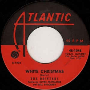 the drifters white christmas the bells of st marys vg 7 single 45rpm 1954 atlantic usa rockfunksoul