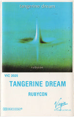 Tangerine Dream - Rubycon - VG+ 1981 USA Cassette Tape - Abstract/Ambient/Electronic