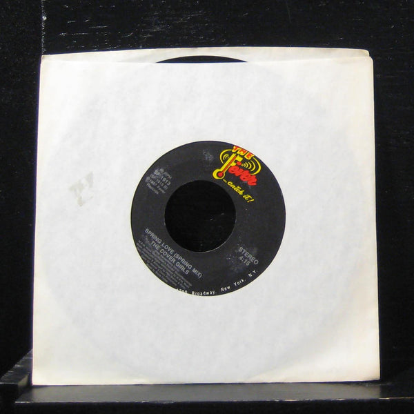 "The Cover Girls - Spring Love / Spring Mix 7"" Mint- SF 1913 Vinyl 45 Fever"