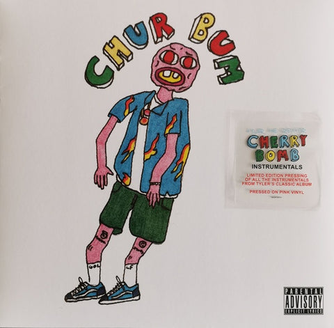 Tyler, The Creator ‎– Cherry Bomb Instrumentals (2015)- New 2 Lp Record Store Day 2020 Columbia USA RSD Pink Vinyl - Hip Hop