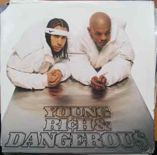 Kris Kross - Young, Rich & Dangerous - VG+ (Poor Cover) 1996 USA Original Press - Hip Hop