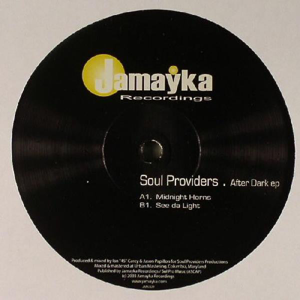"Soul Providers - After Dark EP - Mint- 12"" Single USA 2003 - Chicago House"
