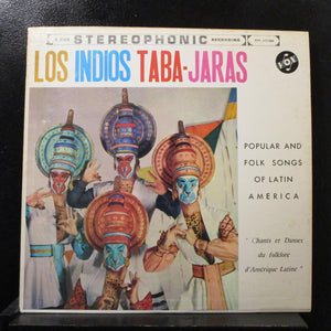 Los Indios Taba-Jaras - Popular Folk Songs Of Latin America LP VG+ STPL 515.080