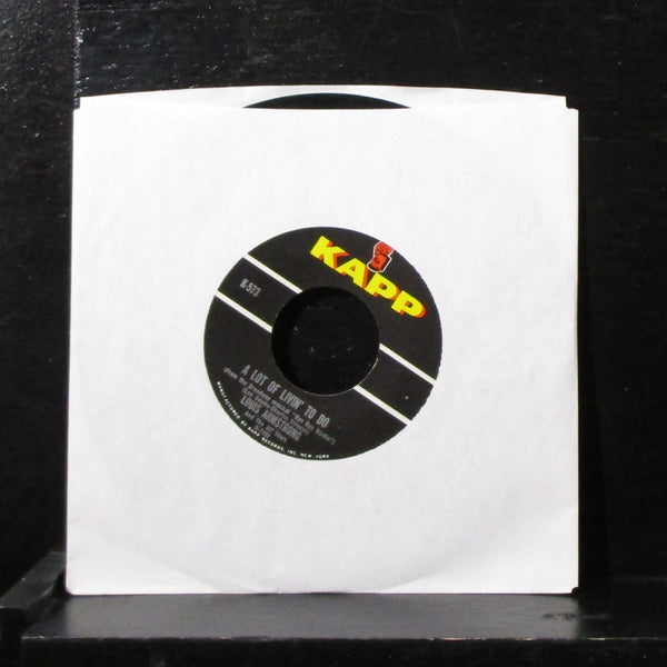"Louis Armstrong - Hello, Dolly! / A Lot Of Livin' To Do 7"" VG+ Vinyl 45 K-573"