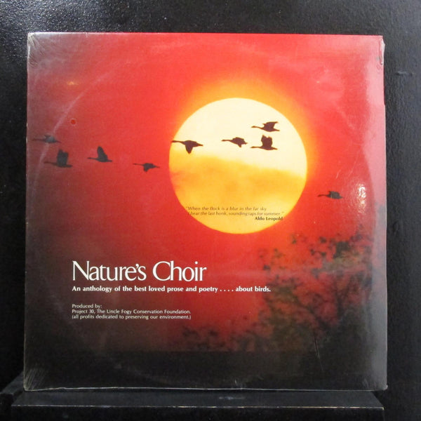 William Barber, Various - Nature's Choir LP New Sealed F-313 Vinyl Record w/Book