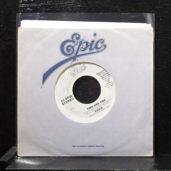 "Basia - Time And Tide 7"" VG+ Promo Vinyl 45 Epic 34-07730 USA 1987"