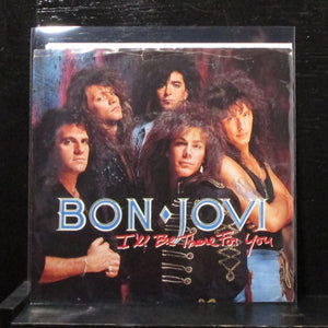 "Bon Jovi - I'll Be There For You 7"" Mint- Promo Vinyl 45 Mercury 872 564-7 DJ"