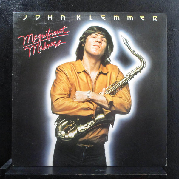 John Klemmer - Magnificent Madness LP Mint- 6E-284 Elektra 1980 Vinyl Record