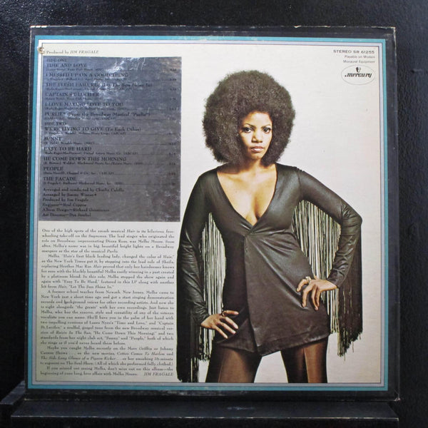Melba Moore-  Living To Give LP VG+ SR 61255 USA 1970 Mercury Vinyl Record