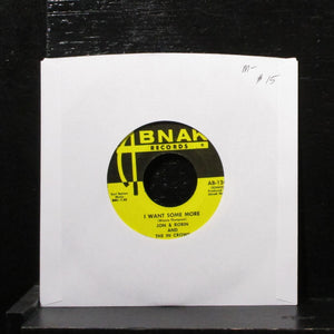 "Jon & Robin And The In Crowd - I Want Some More 7"" Mint- Vinyl 45 AB-124 USA"