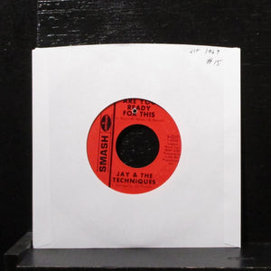 "Jay & The Techniques - Are You Ready For This 7"" VG+ Vinyl 45 Smash S-2217 USA"