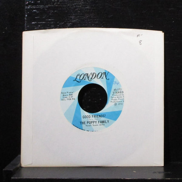 "Poppy Family - Good Friends? / Tryin' 7"" Mint- Vinyl 45 London 4-44508 USA 1972"