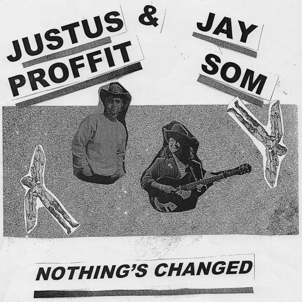 Justus Proffit & Jay Som ‎– Nothing's Changed - New Vinyl EP 2018 Polyvinyl Limited 180gram Pink Vinyl Pressing with Download - Indie / County Rock (FU: Jay Som)