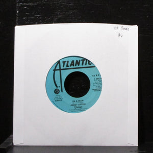 "Jimmy Lifton - I'm A Man 7"" VG+ Promo Vinyl 45 Atlantic 7-89274 USA 1986"