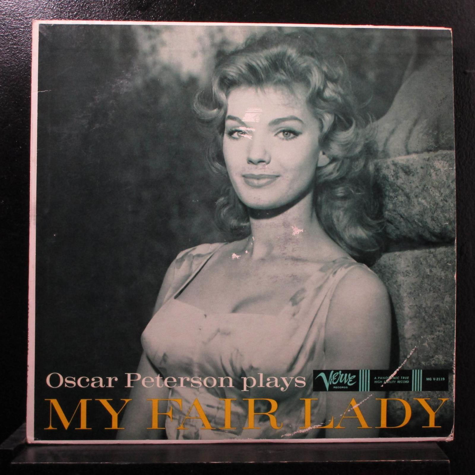 Oscar Peterson - Plays My Fair Lady LP Mint- MG V-2119 Mono 1958 Vinyl Record
