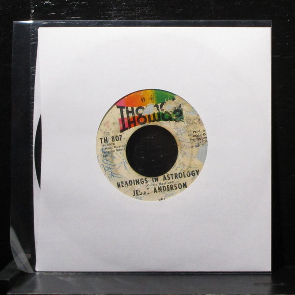 "Jesse Anderson - Let Me Back In 7"" VG Vinyl 45 Thomas TH 807 USA 1970"