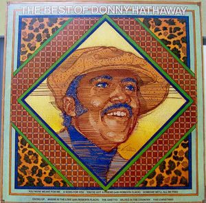 Donny Hathaway ‎– The Best Of Donny Hathaway - VG Lp Record 1978 USA Original Vinyl - Soul