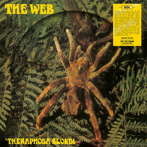 The Web ‎– Theraphosa Blondi - New Lp Record 2019 DOL UK Import 180 gram Picture Disc Vinyl - Psychedelic Rock / Blues Rock