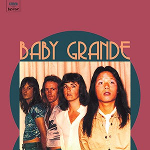 Baby Grande - 1975-77 - New Vinyl Lp 2018 Hozac 'Archival' Series 1st Pressing with Download (Limited to 500) - Garage / Glam Punk