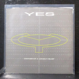"Yes - Owner Of A Lonely Heart / Our Song 7"" VG+ Vinyl 45 ATCO 7-99817 USA 1983"