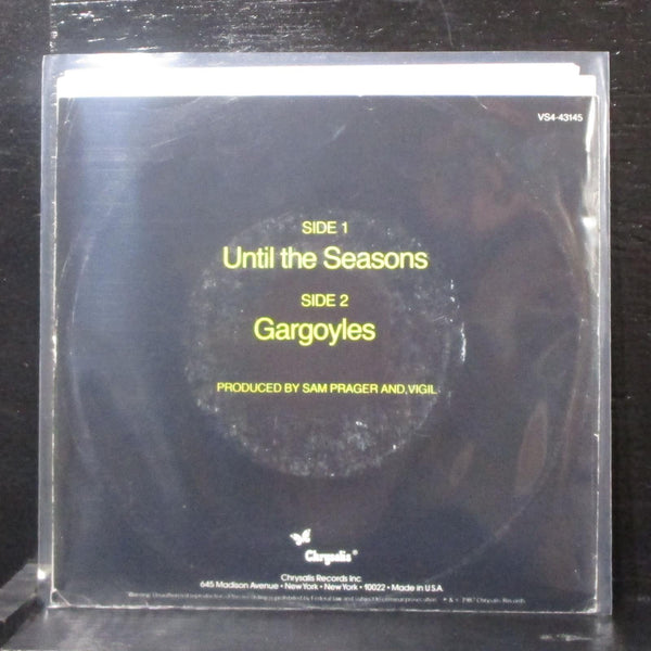 "Vigil - Until The Seasons 7"" Mint- Promo Vinyl 45 Chrysalis VS4 43145 USA 1987"