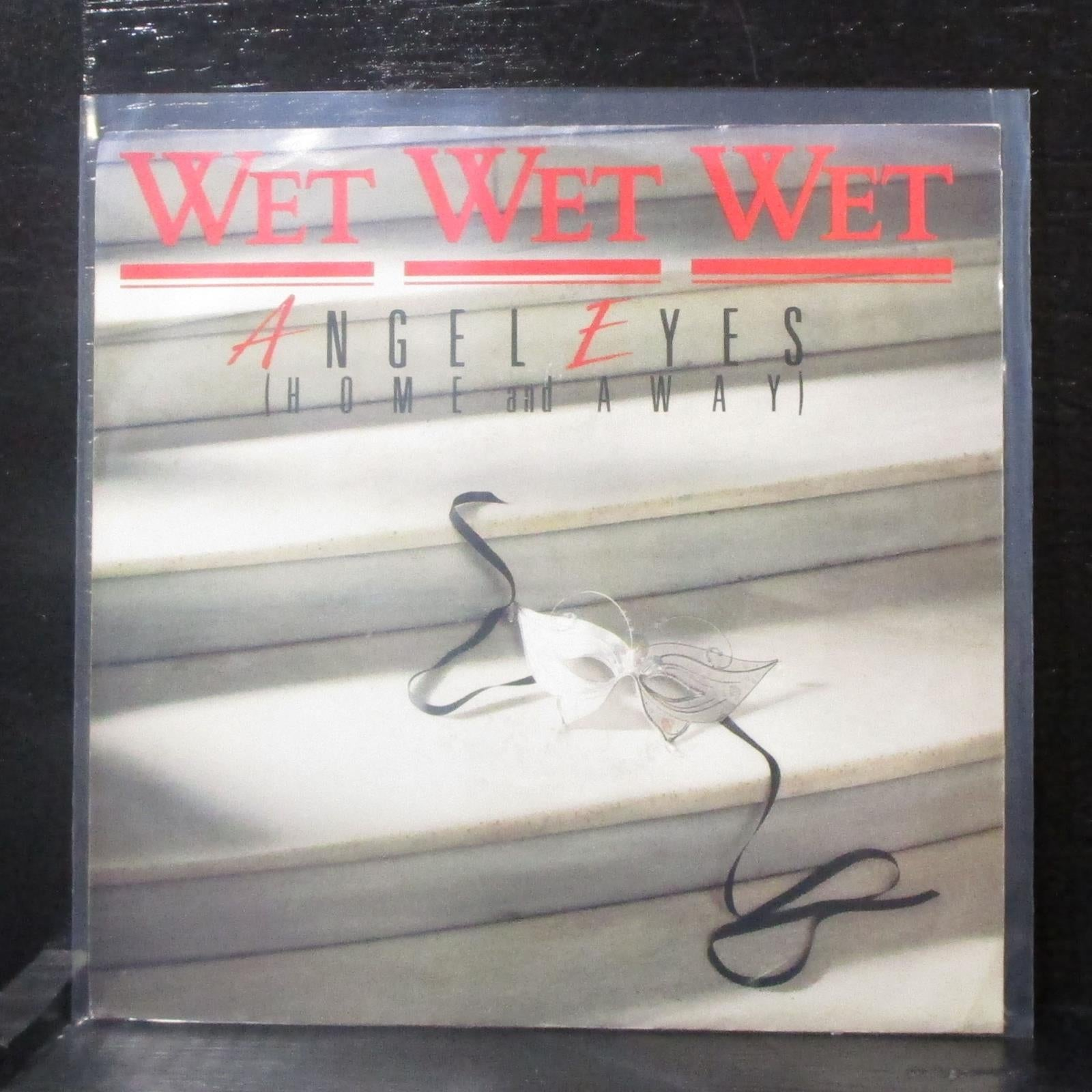 "Wet Wet Wet - Angel Eyes (Home And Away) 7"" Mint- Promo Vinyl 45 UNI-50006 USA"