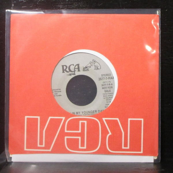 "Don Williams - Back In My Younger Days 7"" Mint- Promo Vinyl 45 RCA 2677-7-RAA"