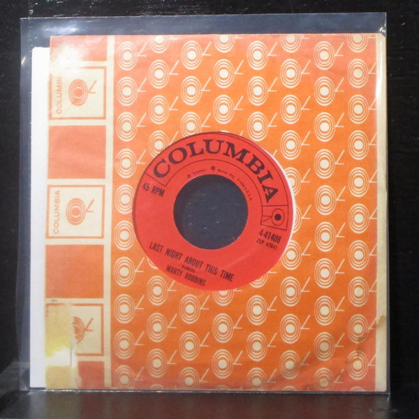 "Marty Robbins - Cap And Gown 7"" VG+ Vinyl 45 Columbia 4-41408 USA 1959"