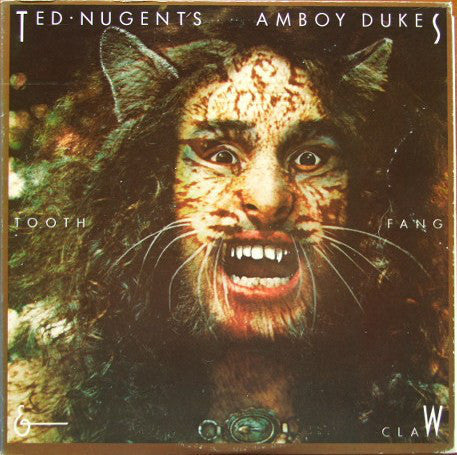 Ted Nugent's Amboy Dukes ‎– Tooth, Fang & Claw - VG 1974 Stereo USA - Rock