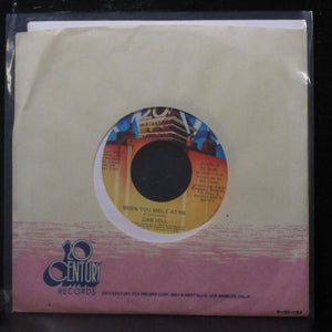 "Dan Hill - When You Smile At Me / Hold On To The Night 7"" Mint- Vinyl 45 TC-2425"