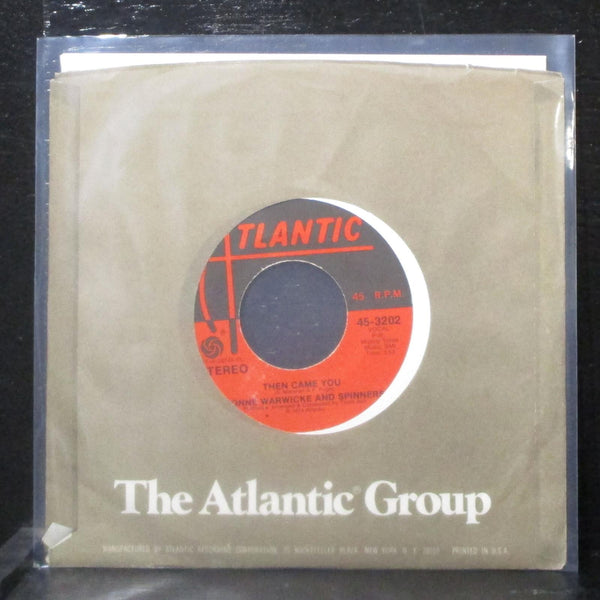 "Dionne Warwicke & Spinners - Then Came You 7"" Mint- Vinyl 45 Atlantic 45-3202"