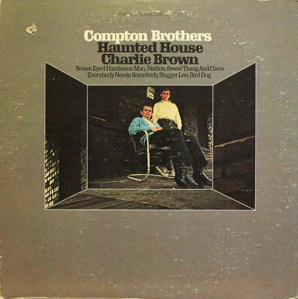 Compton Brothers ‎– Haunted House / Charlie Brown - Mint (Sealed) Lp Record 1970 USA Original Vinyl - Country
