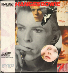 David Bowie ‎– Changesbowie - New 2 Lp Record 1990 Ryko Analogue USA Coke Bottle Green Clear Vinyl - Rock & Roll / Glam