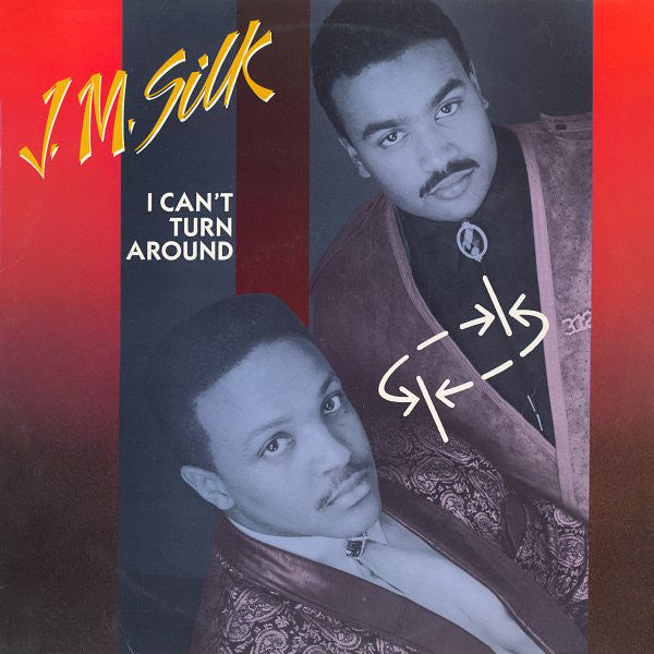 "J.M. Silk - I Can't Turn Around - VG+ 12"" Single USA 1986 - Chicago House"