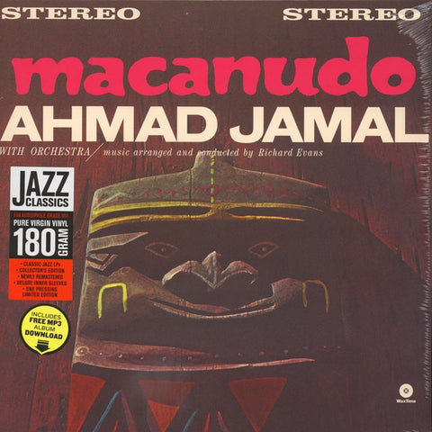 Ahmad Jamal ‎– Macanudo (1963) - New Lp Record 2015 WaxTime Europe Import 180 gram Vinyl & Download - Jazz / Afro-Cuban Jazz