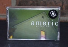 American Football - S/T (Deluxe Edition) - New Cassette 2015 Limited Edition White Tape w/ Download - Indie / Emo / Math Rock