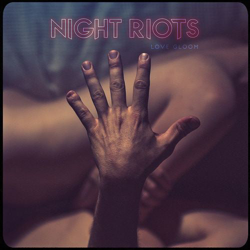 Night Riots - Love Gloom - New 2 Lp Record 2017 Sumerian USA Clear Transparent Cloudy Vinyl - Alternative Rock