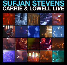 Sufjan Stevens - Carrie & Lowell Live - New Vinyl 2017 Asthmatic Kitty Limited Edition 'Translucent Blue' Vinyl Pressing - Indie Rock