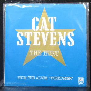 "Cat Stevens - The Hurt / Silent Sunlight 7"" VG+ Vinyl 45 AM-1418-S USA 1973"