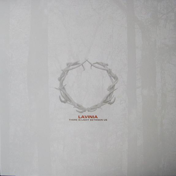 Lavinia ‎– There Is Light Between Us - New Vinyl 2010 Limited Edition Bronze/Silver Swirl Wax (300 Made) - Indie Rock / Experimental