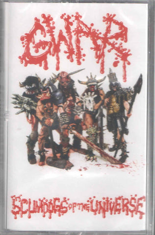 Gwar ‎– Scumdogs Of The Universe (1990) - New Cassette 2020 Slave Pit Tape - Heavy Metal