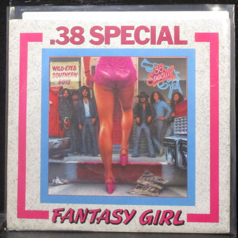 ".38 Special - Fantasy Girl 7"" Mint- Promo Vinyl 45 A&M 2330-S USA 1980"