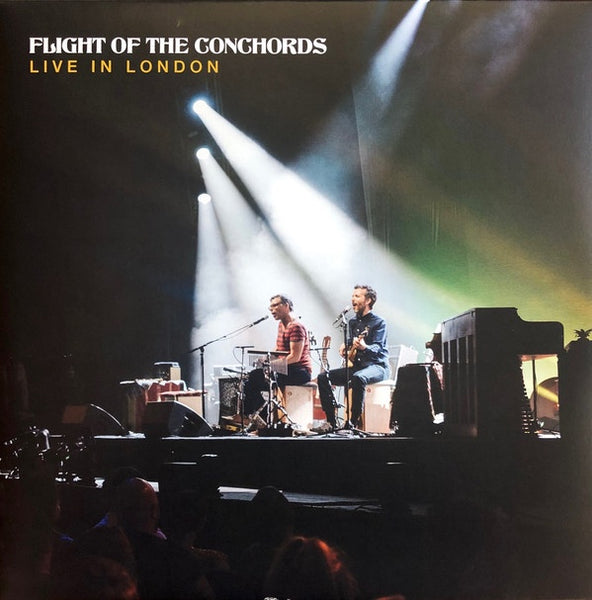 Flight Of The Conchords - Live in London - New Vinyl 3 Lp 2019 Sub Pop 'Loser Edition' on Clear with Blue and Yellow Colored Vinyl with Download - Comedy / TV Series