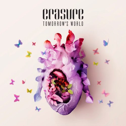 Erasure - Tomorrow's World - New Vinyl Record 2016 Mute Records Limited Edition 2-LP Colored Vinyl w/ Bonus Tracks + Download - New Wave / Synthpop