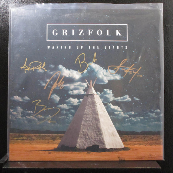 Grizfolk Waking - Up The Giants LP New B002400501 Record Signed / Autographed